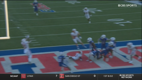 Mordecai late TD pass lifts SMU past Louisiana Tech, 39-37