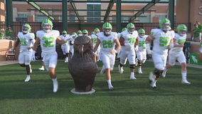 Marshall scores on first 6 drives in 49-21 rout of N. Texas