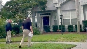 Possible law enforcement agents at home of Brian Laundrie's sister in Lakewood Ranch