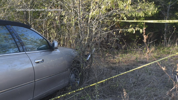 New photos show where Carolyn Riggins' body, car found in Cooke County