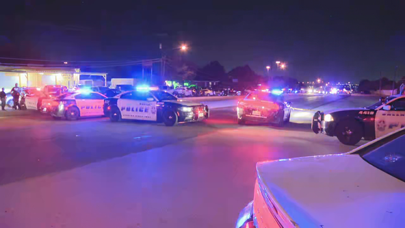 Dallas police officer reports being shot at while in vehicle