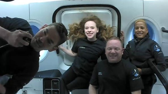 Coming home! SpaceX's Inspiration4 crew to return to Earth on Saturday