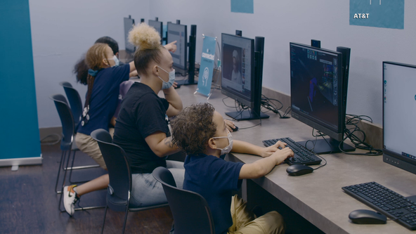 AT&T opens first community learning center in effort to bridge digital divide