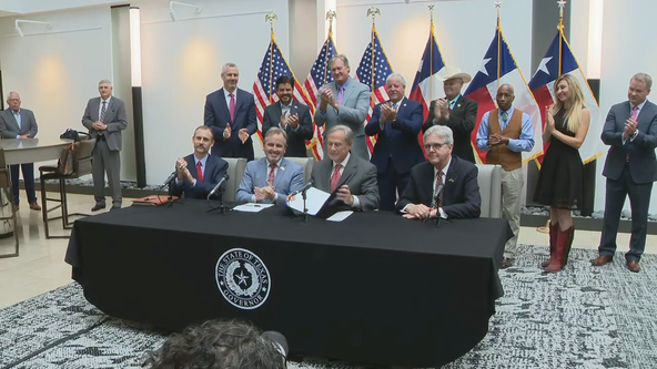 Lawsuits filed as Texas governor signs controversial election reform bill into law