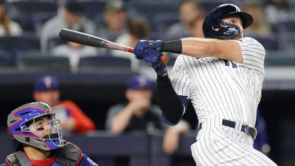 Yankees power past Rangers 7-1 to keep pace in playoff race