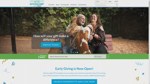 Local nonprofits seeking support for North Texas Giving Day