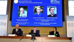 Nobel prize for economics awarded to 3 in US for societal research
