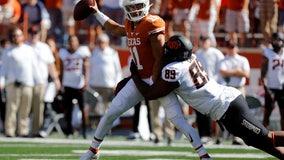 No 12 Oklahoma State rallies late to beat No. 25 Texas 32-24