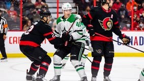 Chris Tierney scores twice, Senators beat Stars 3-2