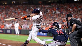 Astros' offense struggles in Game 1, 2-6