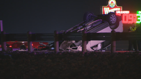 Two injured after shooting, crash on 635 in Balch Springs