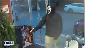 Armed men in 'Scream' masks rob Seattle hair salon
