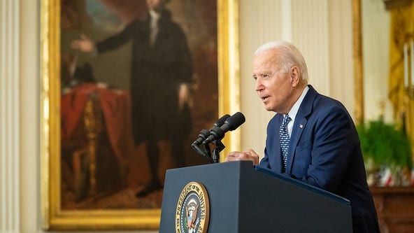 Biden bound for global summits in Europe as domestic agenda in limbo