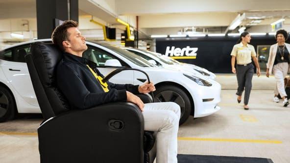 Hertz orders 100,000 Tesla cars in effort to electrify rental fleet