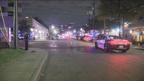 Man walking in Uptown Dallas shot in the head