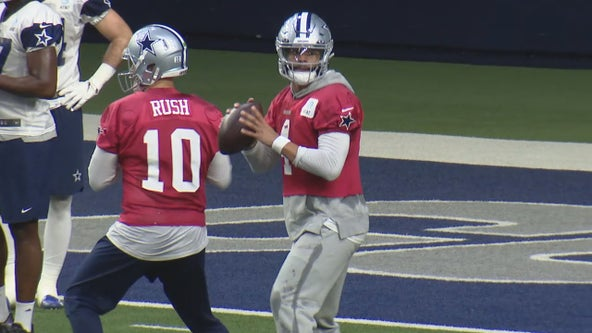 Dak Prescott's status for Sunday's Cowboys game still uncertain