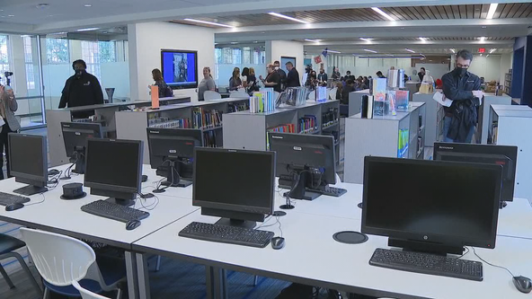Fort Worth ISD gives tour of Arlington Heights renovations