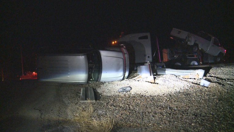 4 injured after Amtrak train from Fort Worth crashes in semi in Oklahoma
