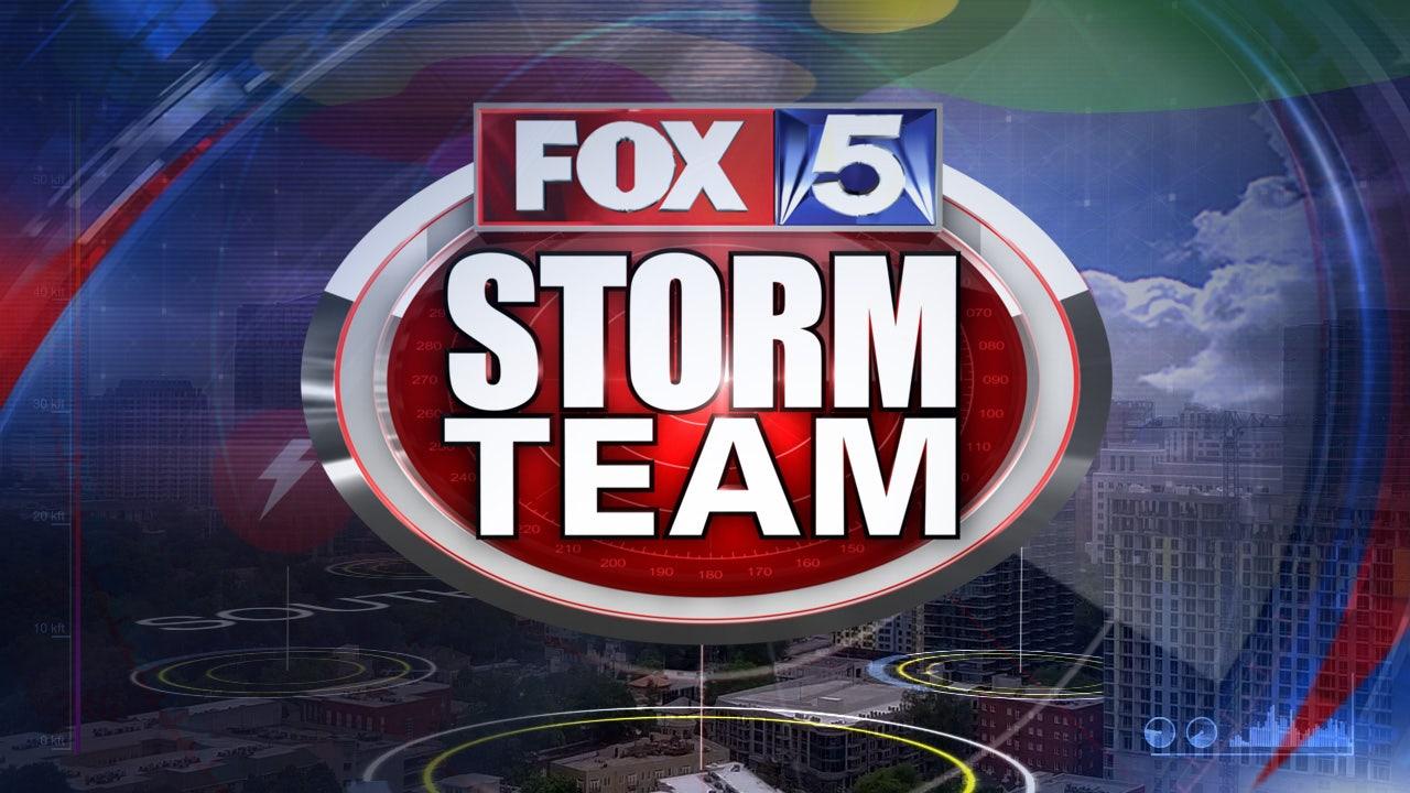 Download the FOX 5 Storm Team app!