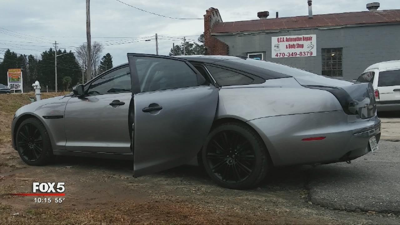 custom jaguar stolen from car shop custom jaguar stolen from car shop