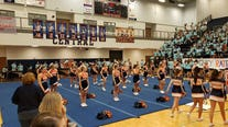 Team of the Week pep rally at Habersham Central HS