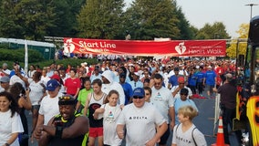 Hundreds get active for a good cause at Atlanta Heart Walk