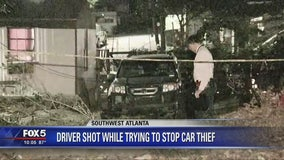 Driver shot during carjacking