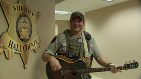 Meet the Hall County singing deputy