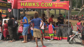 Atlanta Hawks hosts back-to-school event