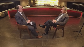Arthur Blank sits down with FOX 5's Russ Spencer