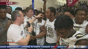 Team of the Week pep rally at Fayette County HS