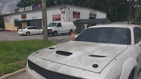Arson suspected in early morning automotive business blaze