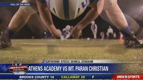 Athens Academy at Mt. Paran Christian - Call of the Week