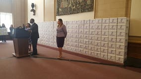 Mayor Reed gives 1.47 million documents; speaks about federal bribery investigation
