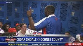 Cedar Shoals vs. Oconee County - Mic'd Up
