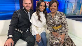 Michelle Williams and Pastor Chad Johnson on Good Day Atlanta