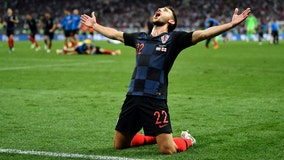 Croatia reaches FIFA World Cup for 1st time, beats England 2-1