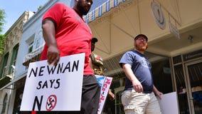 Newnan weathers neo-Nazi protest