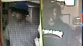 Police search for suspects in pawn shop armed robbery