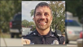 Covington Officer Matt Cooper back at work after recovering from shooting