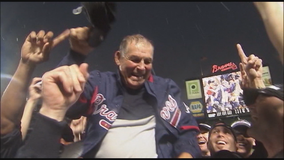 Sign a 'get well card' for Bobby Cox during this weekend's Braves series
