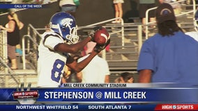 Call of the Week: Stephenson at Mill Creek