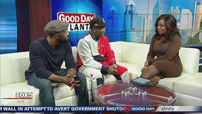 Trevante Rhodes and Lil Rel Howery preview 'Bird Box' on Good Day Atlanta