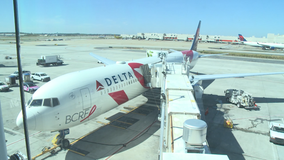 'Breast Cancer One' flight takes off with 140 breast cancer survivors, fighters
