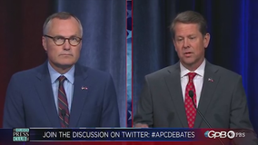 Cagle, Kemp square off in GPB runoff debate