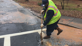 Water main breaks continue across metro Atlanta