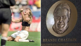 Hall of Fame plaque of soccer champion Brandi Chastain is a 'freaking embarrassment'