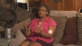 East Point pit bull attacks woman