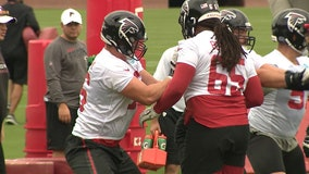 Falcons rookie McGary back in practice after heart surgery