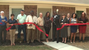 Ribbon-cutting ceremony for Norcross affordable housing duplex